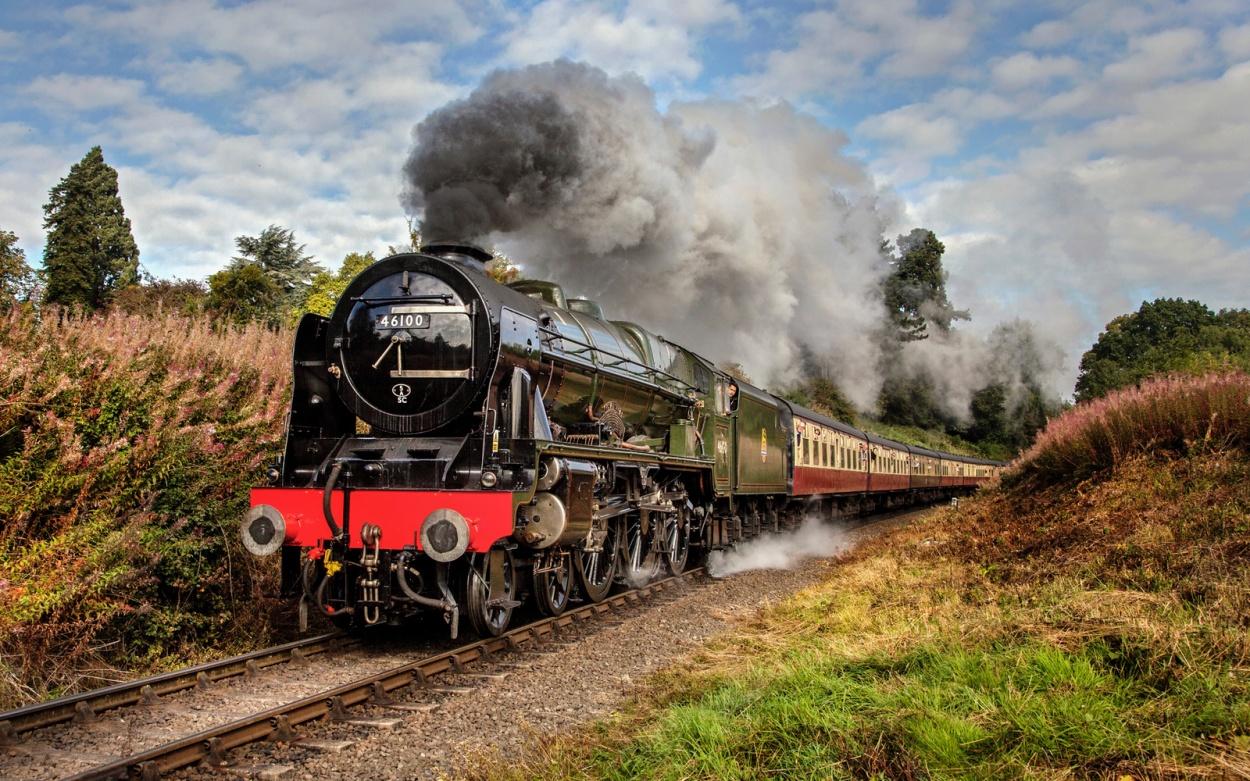 Nostalgie Eisenbahnen Dampf England