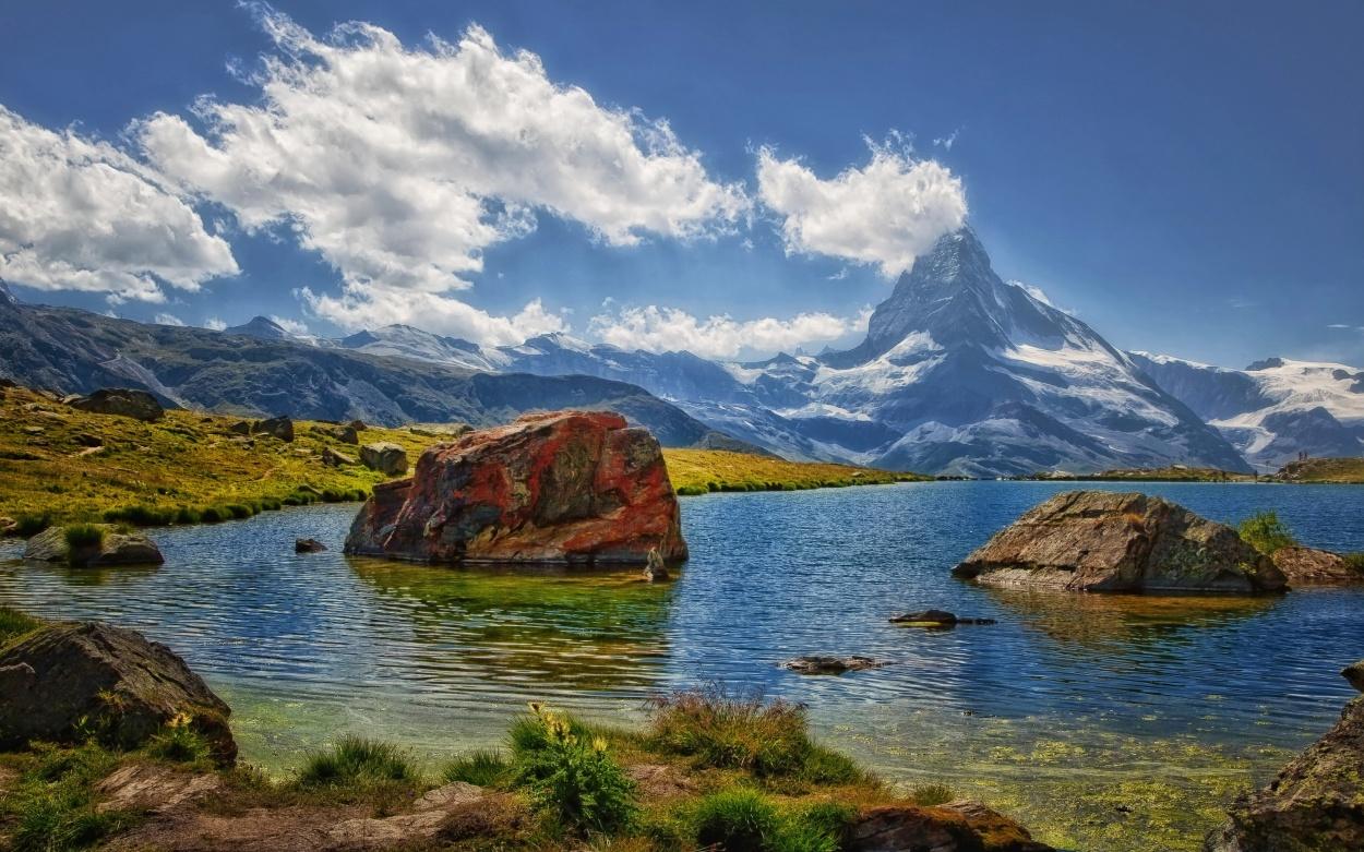 Schweiz: Glacier Express Bernina Express. Matterhorn Zermatt