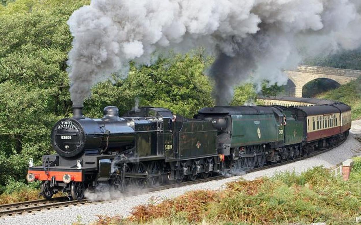 Dampf Nostalgie Eisenbahnen