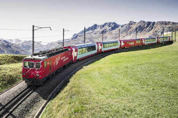 Bahnreisen Glacier Espress