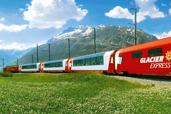 Glacier Express Schweiz Eisenbahnen