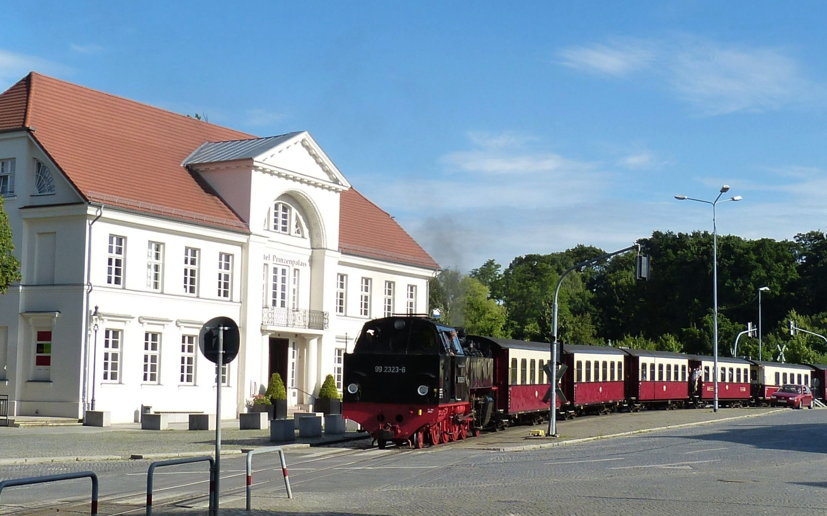 Classic Dampfzug Molly Dampflokomotive, Bad Doberan, Ostsee Kühlungsborn
