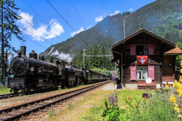 Schweizer Volldampf Quartett - Ein bergisches Dampferlebnis