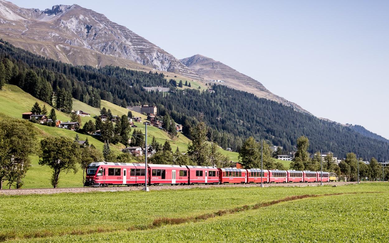 Engadin Bernina-Express Tirnao St.Moritz