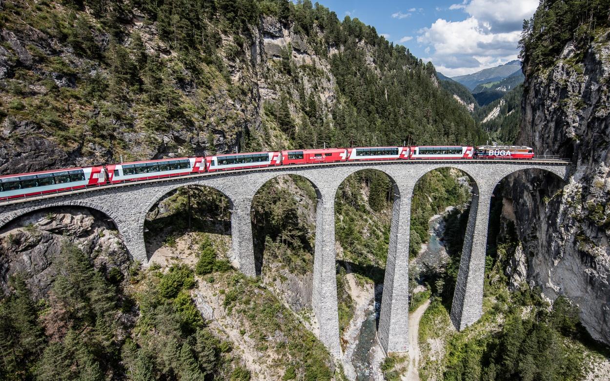 Glacier Express Bilderbuch