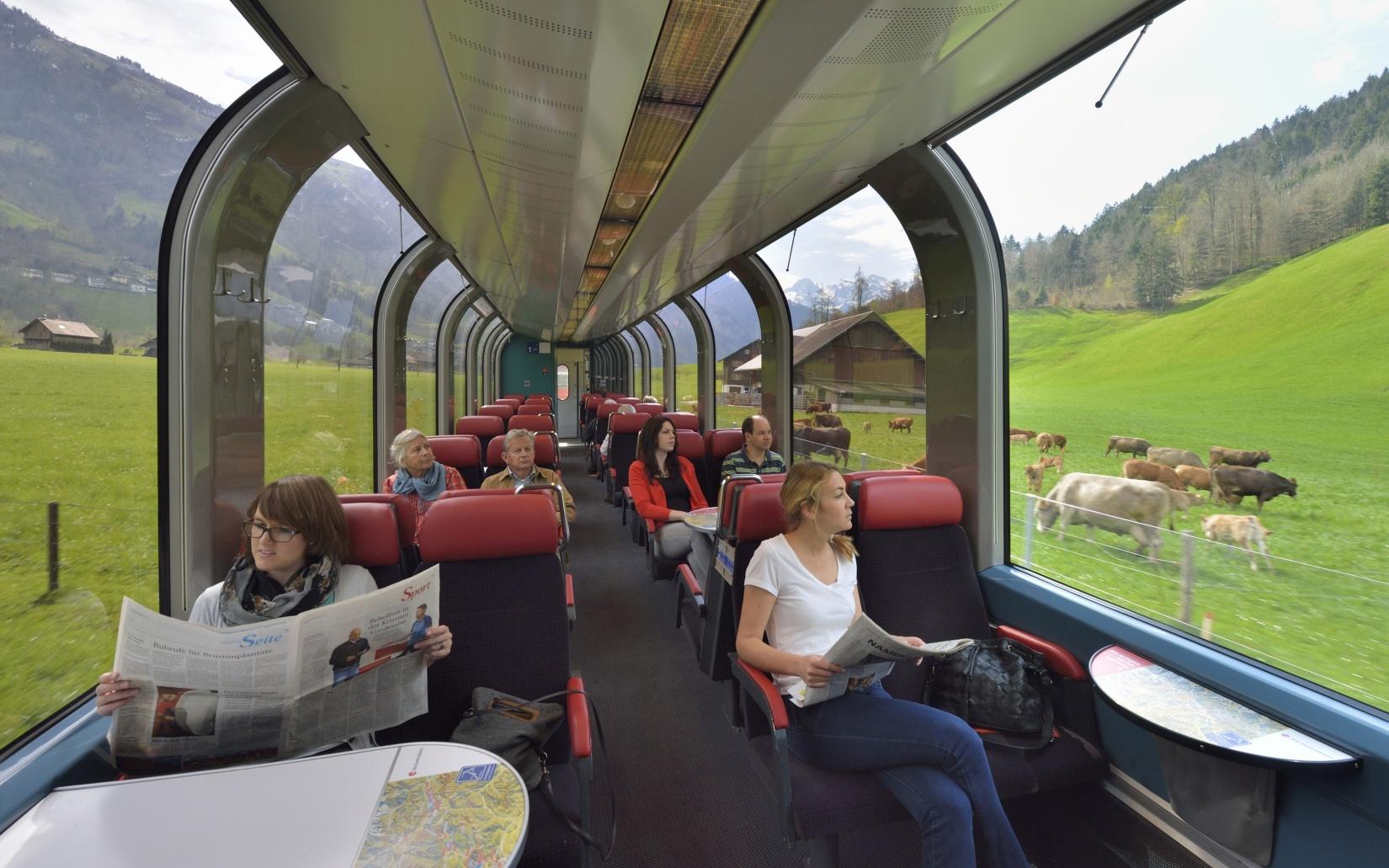 Schweizer Panorama Züge Insider Tipps Schweizer Panoramazüge: Gotthard-Panorama-Express