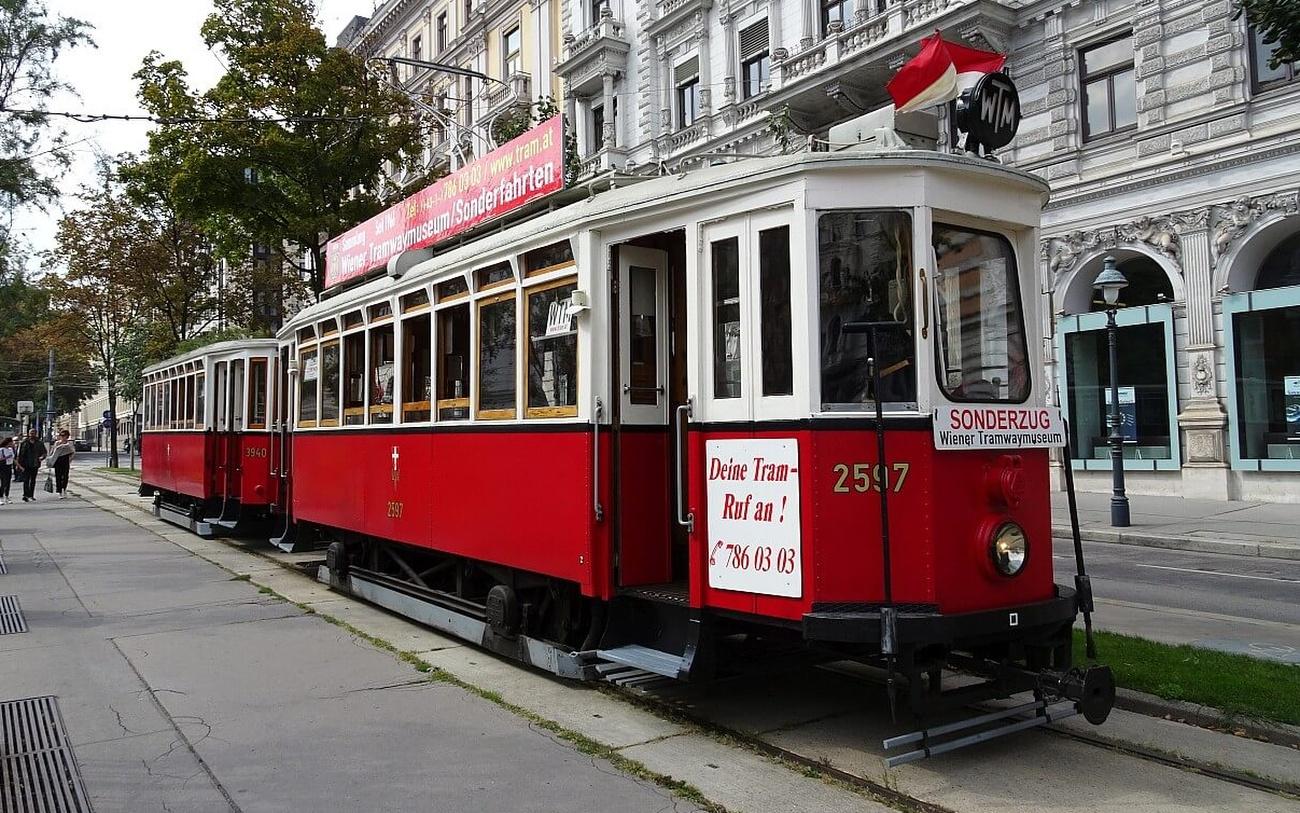 historische Straßenbahn Wien