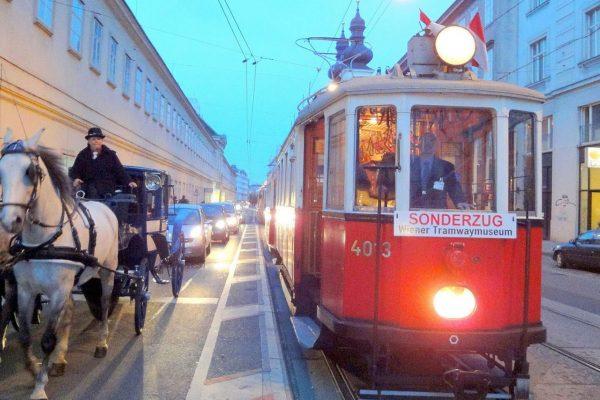 Wiener Eisenbahngeschichte und Walzer Melodien