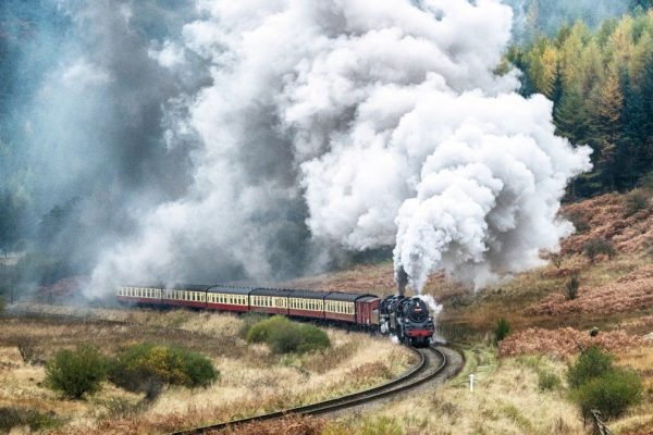 Nostalgie Volldampf bahnreisen Zugreisen Dampfzug Nostalgiezug
