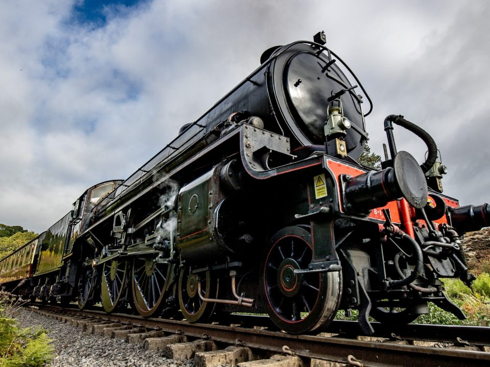 Eisenbahn Nostalgie Dampfzug Großbritannien B1 Nr 1264 ex London and North Eastern Railway