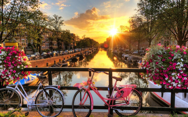 Dampfzüge in Holland - Tipps Grachten Fahrrad Amsterdam Holland