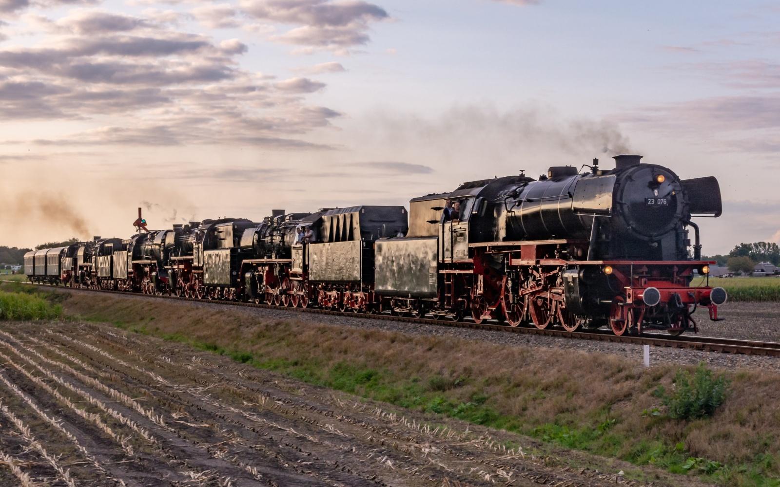 Eisenbahn Nostalgie Erlebnis Holland Dampfloks VSM Apeldoorn