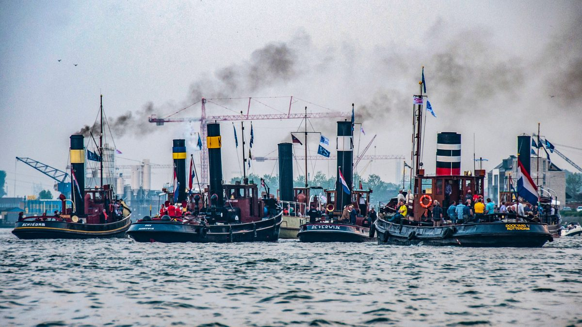 Dampf-Festival in Holland