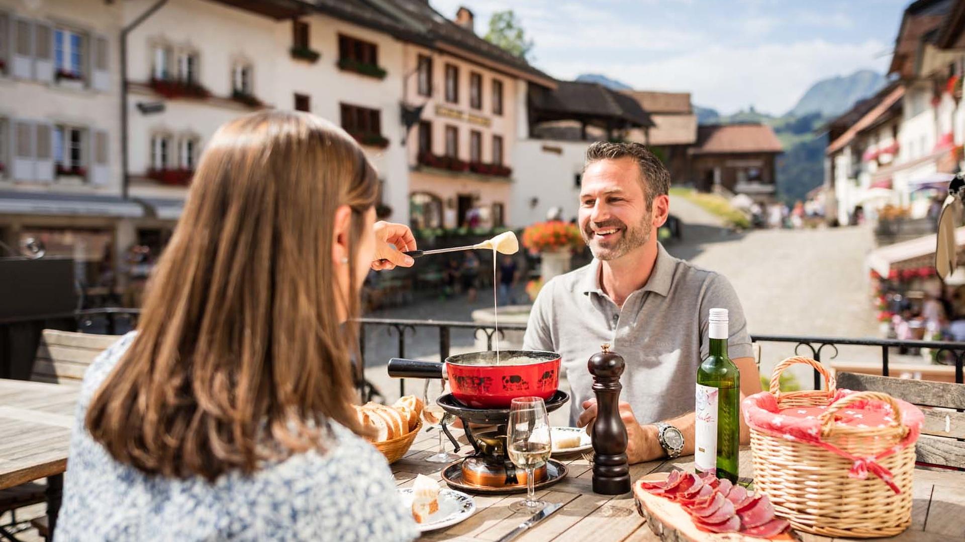 Schweiz Fribourger Land 3-Seen-Land