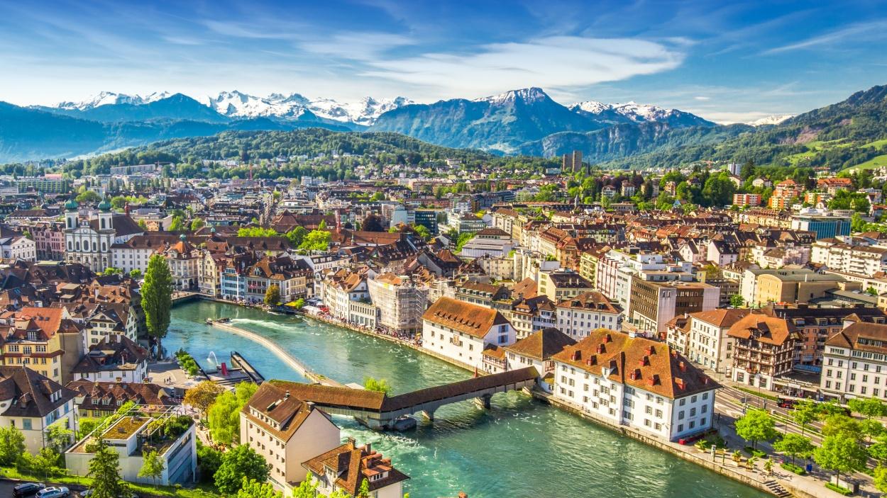 Scjhweizer Berge