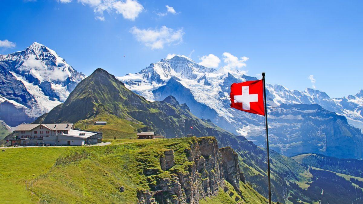 Schweiz Berner Oberland 3-Seen-Land