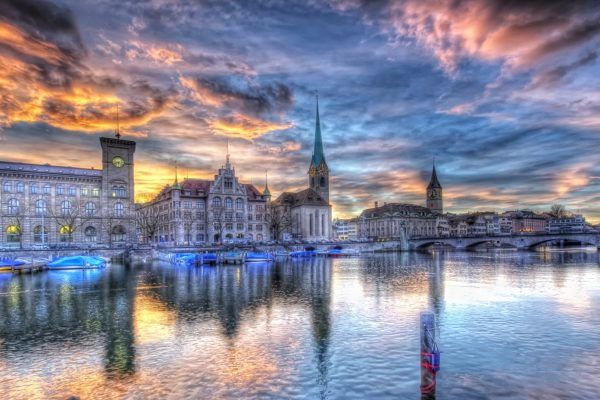Zürich Schweiz Seen