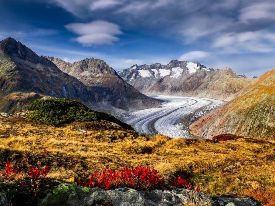 Zentralschweiz-Furkapass-Aletschgletscher