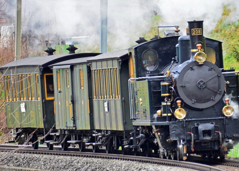 Eisenbahn Romantik Berner Oberland