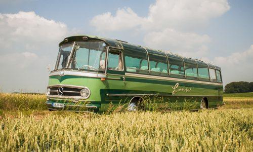 Nostalgic Nostalgie Oldtimer Omnibus DAmpflokomotive Reisen