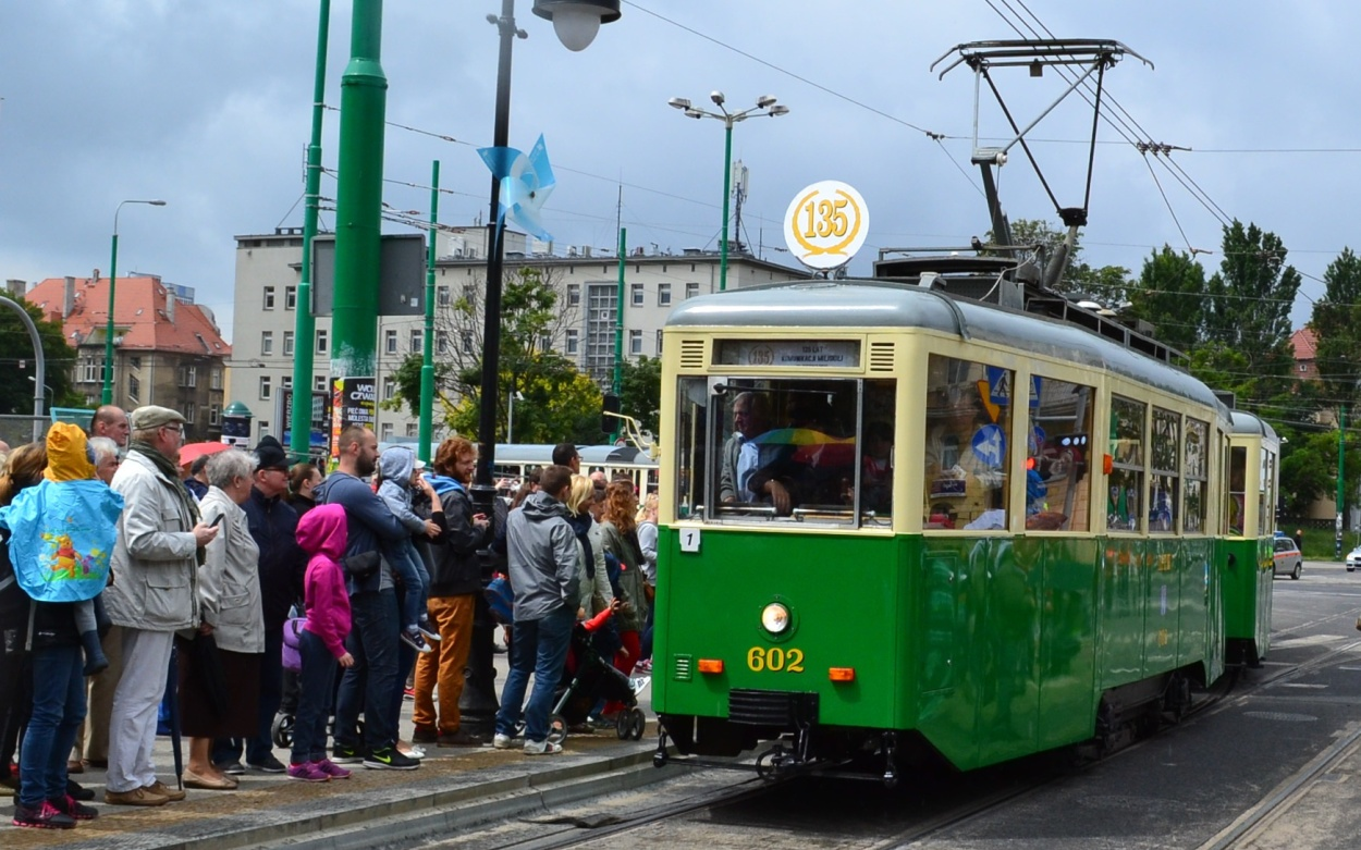 Dampfzüge Dampflok-Parade Wolsztyn Posen Polen Wollstein Posen Straßenbahn