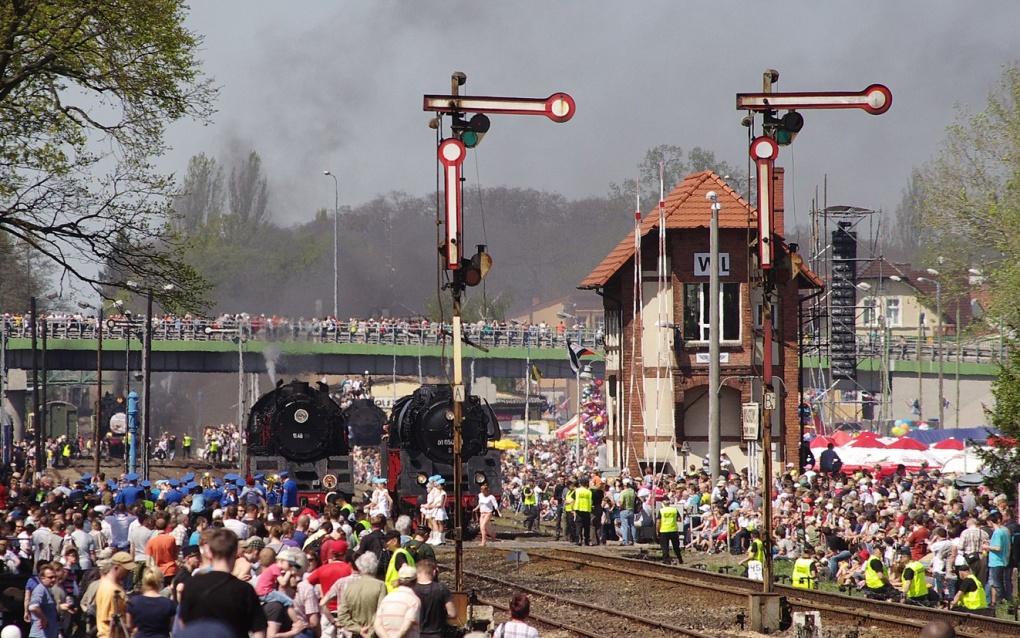Dampfzüge Dampflok-Parade Wolsztyn Posen Polen Wollstein