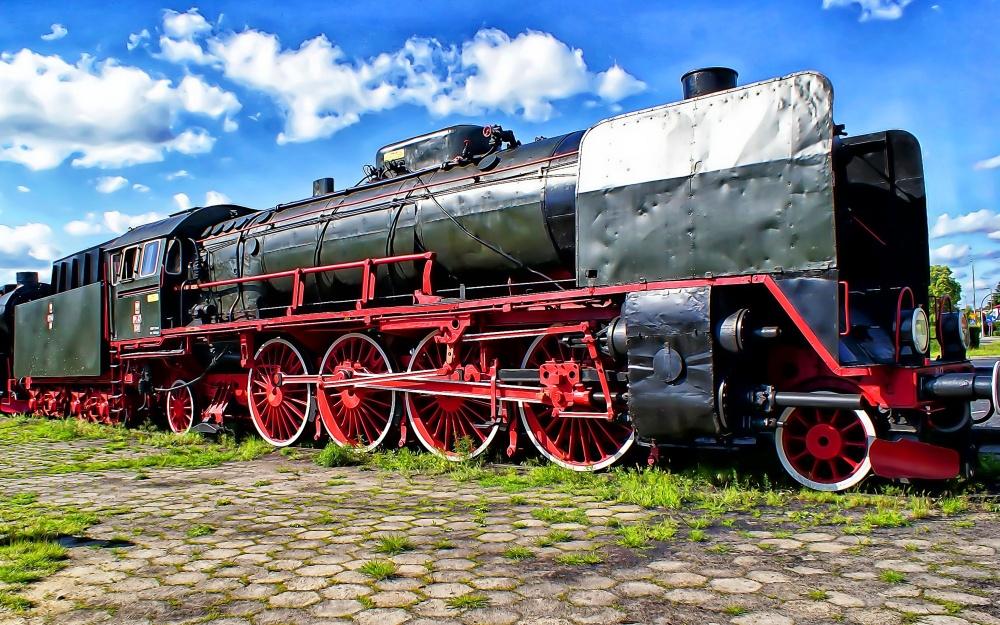 Eisenbahn Dampfzüge Dampflok-Parade Wolsztyn Posen Polen Wollstein Nostalgie Volldampf Bahnreisen Zugreisen Dampfzug Nostalgiezug