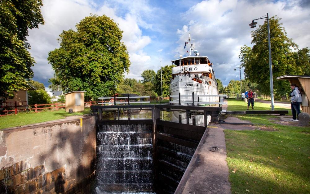 Göta Kanal Schweden Nostalgie