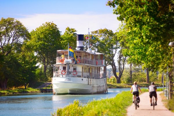 Nostalgie Kreuzfahrt Reise Retro Vägen göta kanal Schweden Stockholm fifties göteborg