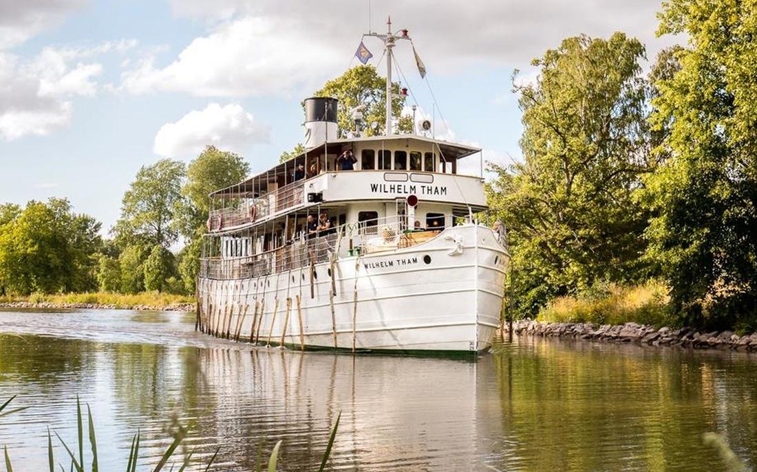Nostalgische Zeitreise Göta Kanal Nostalgie Schweden