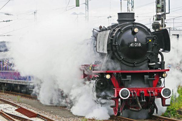 Eisenbahn Dampf Schnellzug Prag Meißen