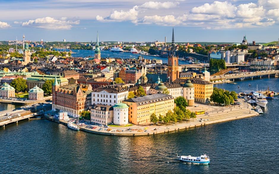 Stockholm Schweden Nostalgie