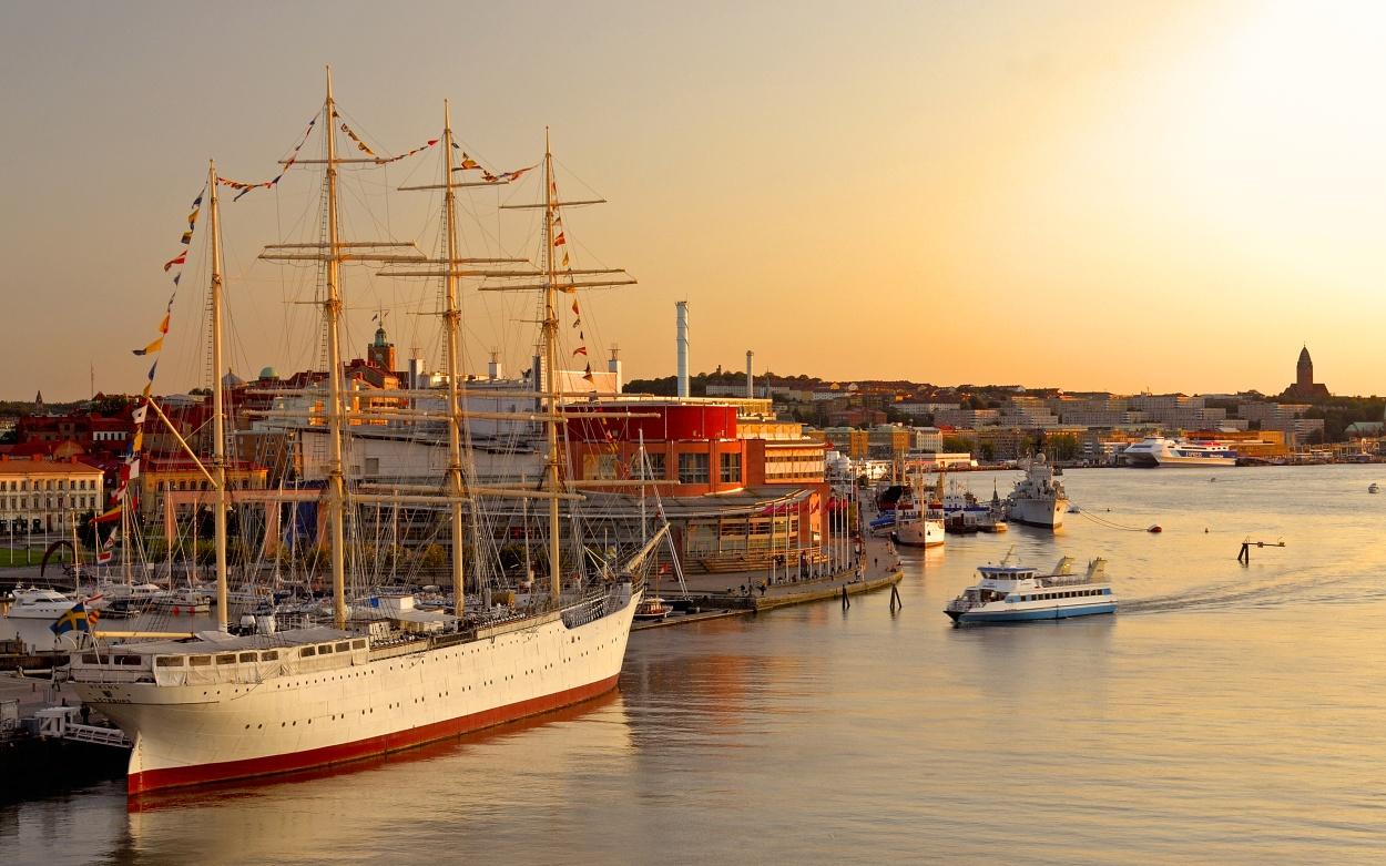 Göteborg Hafen Schweden