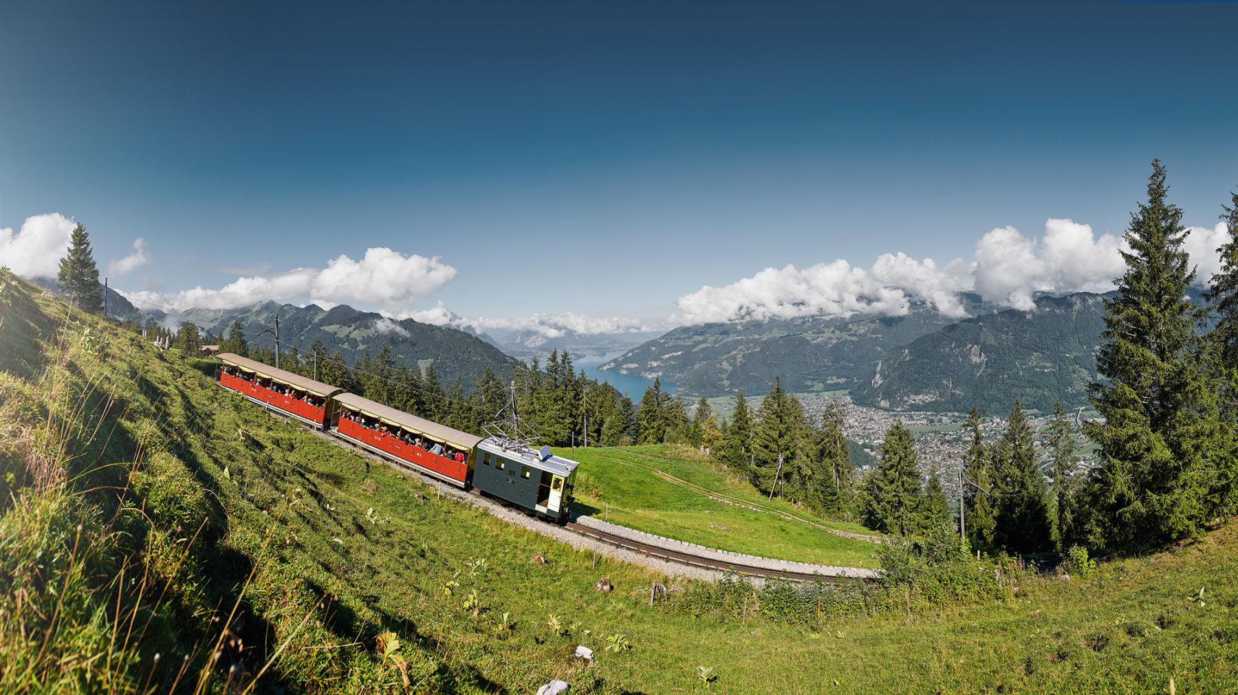 Berner Oberland Schweiz Schynige Platte Nostalgie