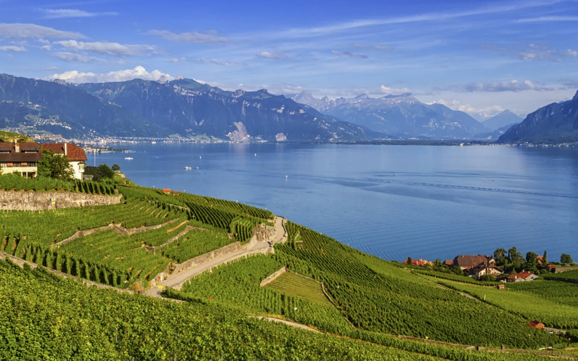 Schweiz Genfer See Genf