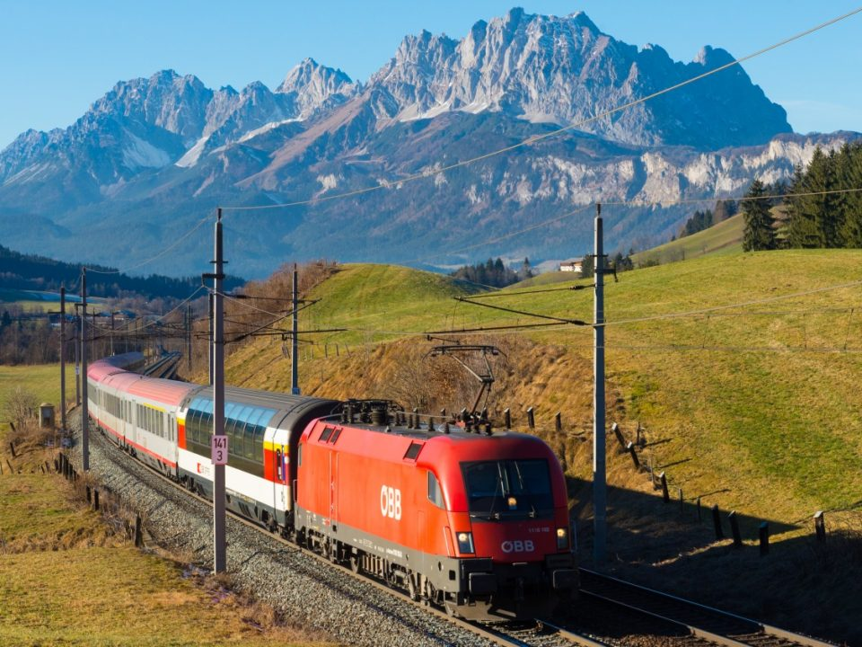 Graz Zürich Schweiz Österreich Eurocity Trans-Alpin-Express