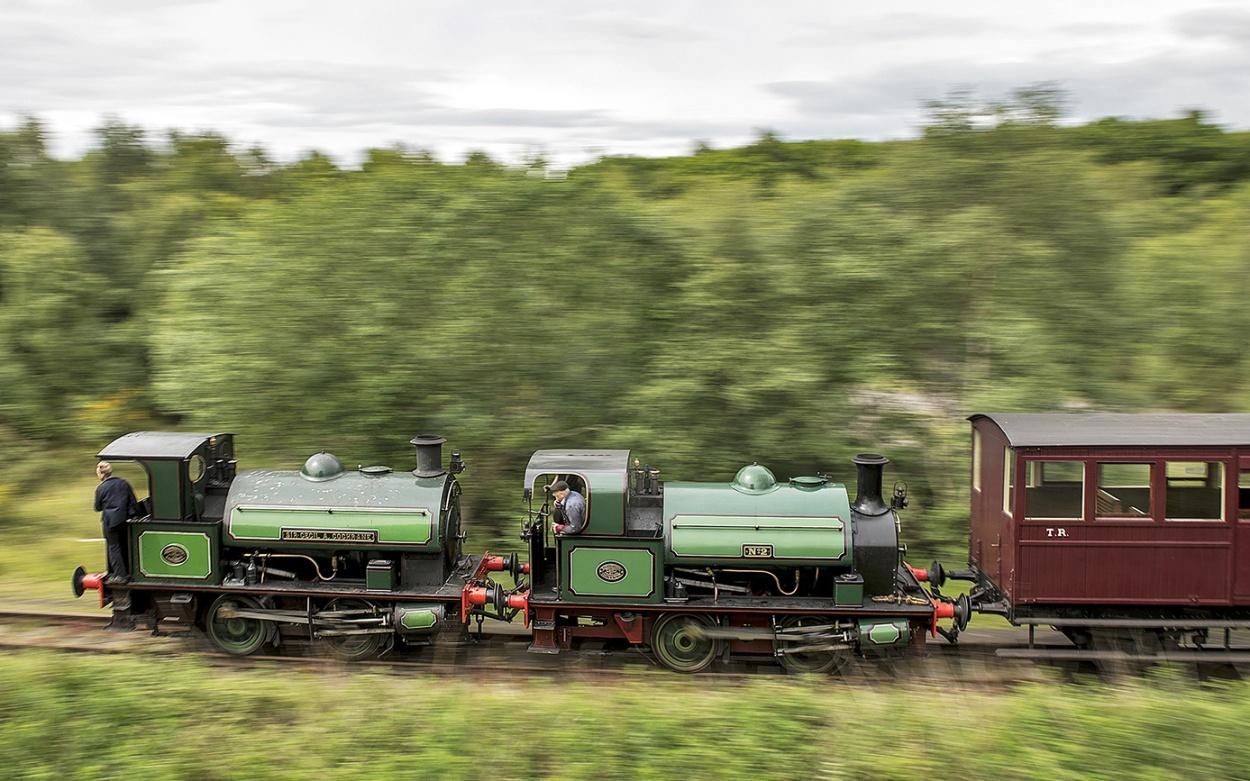 steam locomotive Great Britian Grobritannien England Dampflokomotive