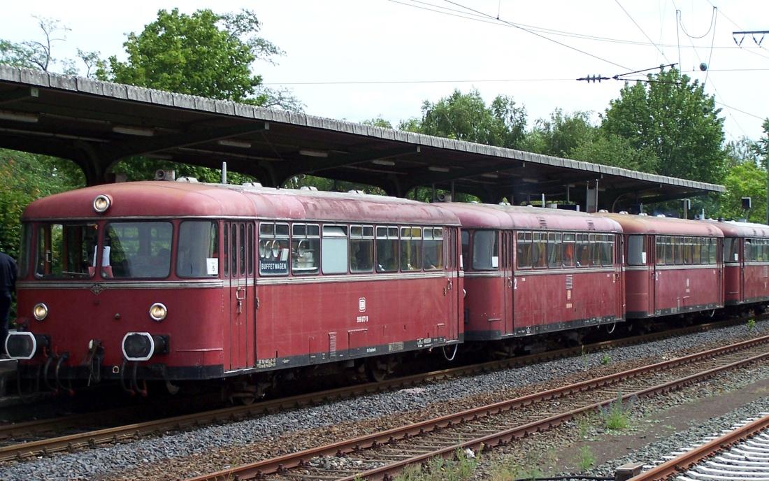 Museumseisenbahn, Nostalgie, Roter Brummer Schienenbus, Uerdinger Schienenbus, Donnerbüchse
