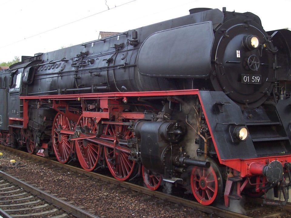 Dampflok 01 519 Dampflokomotive