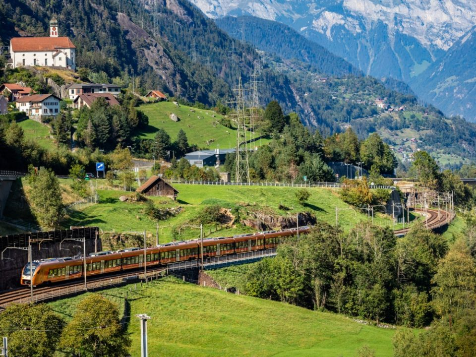 Treno Gottardo Schweiz