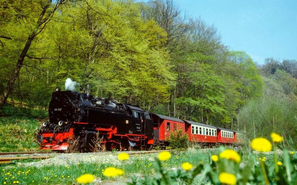 Dampf Eisenbahn Nostalgie Dampflok Harz Brocken