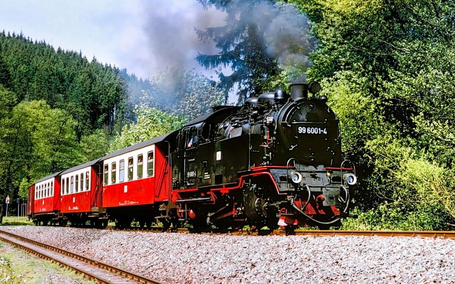 Nostalgie Selketal Dampfzug Harz Dampf Eisenbahn