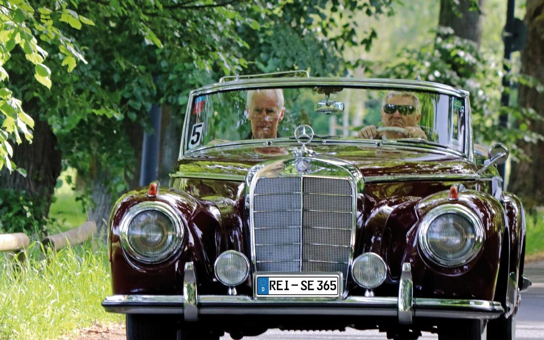 Mercedes Benz omnibus Classic Oldtimer Auto