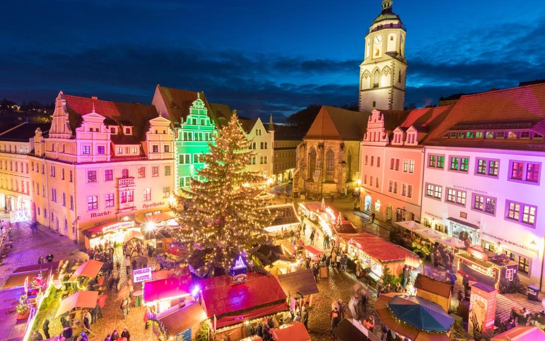 Nostalgische Zeitreise Dresden Strietzelmarkt Vorweihnacht Advent