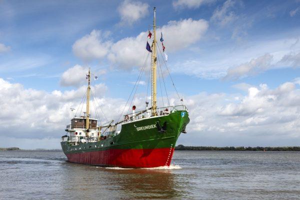 Nordsee Elbe Ostsee Deutschland Schiff