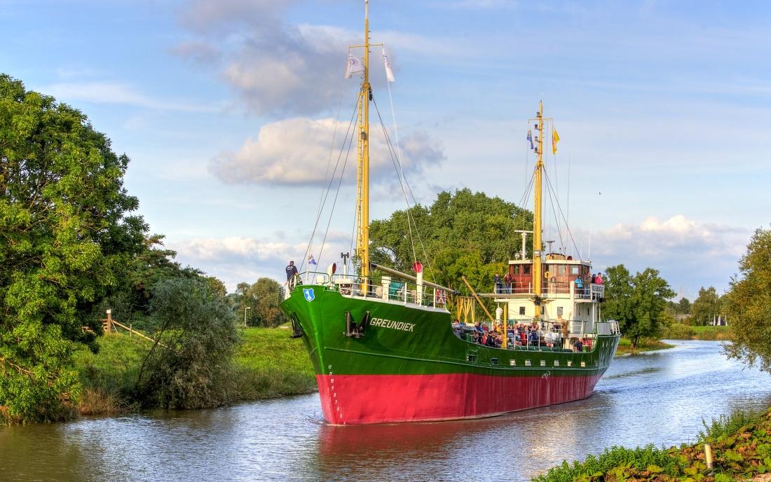Museumsschiff Greundiek Elbe