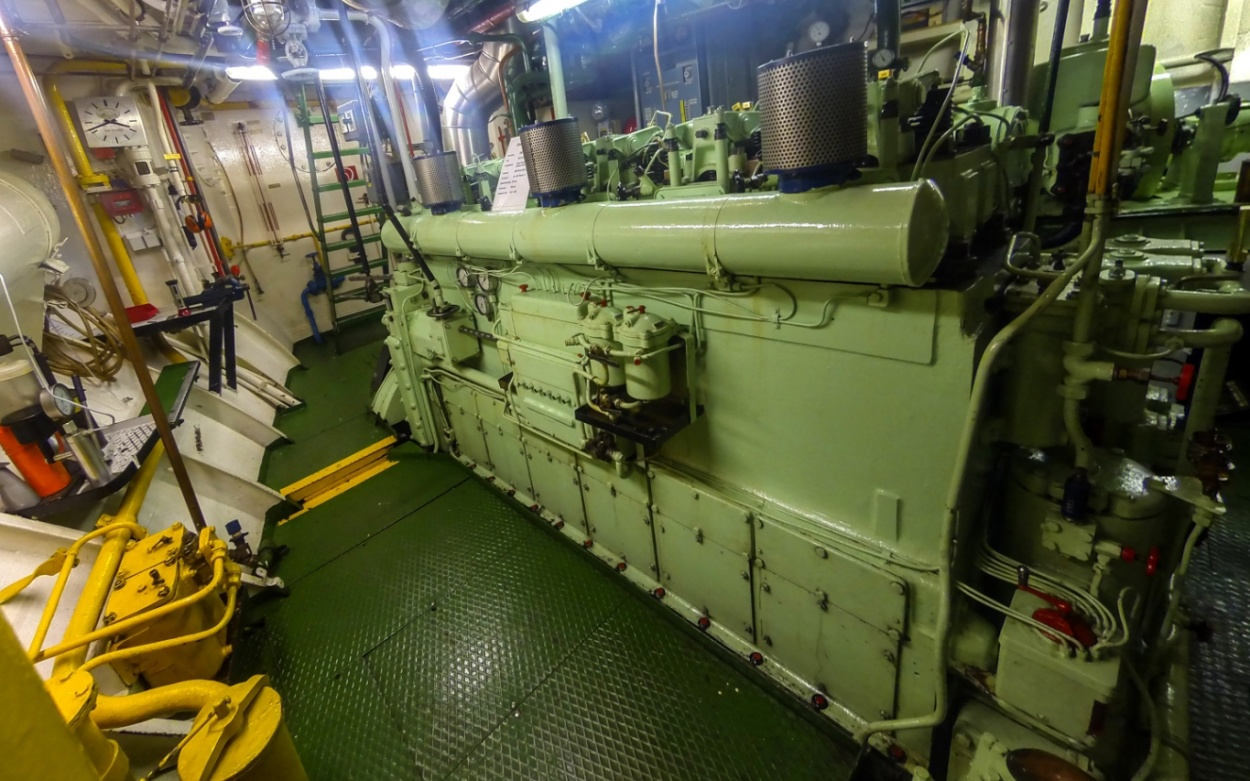 Maschinenraum Schiff