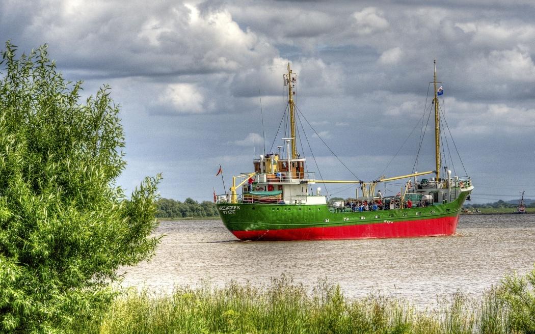 Nord-Ostsee-Kanal Brunsbüttel Elbe