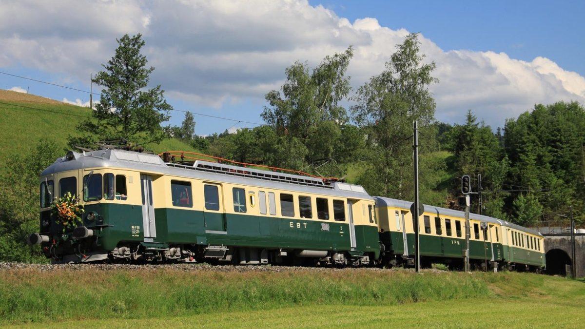 Nostalgie Classic historischer Zug Museum Eisenbahn