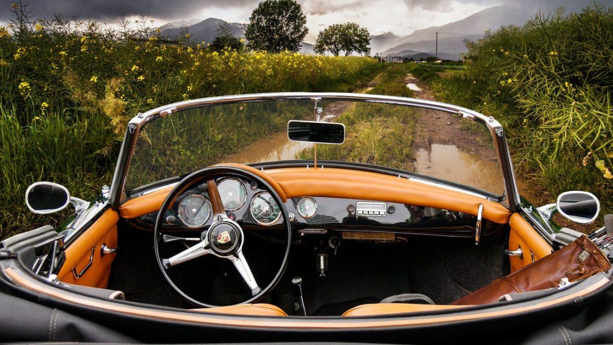Cockpit Cabrio Porsche Classic Oldtimer